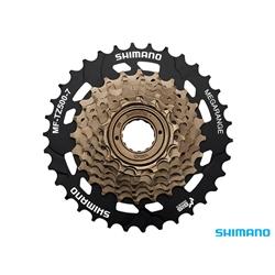 Image: SHIMANO MF-TZ500 MULTI FREEWHEEL 14-34