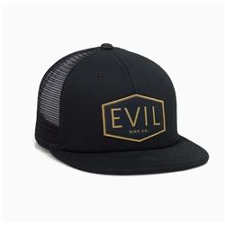 Image: EVIL GASSER TRUCKER CAP BLACK