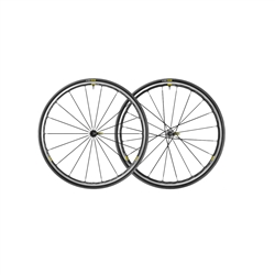 Image: MAVIC KSYRIUM ELITE UST WHEELSET 25C BLACK
