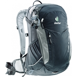 Image: DEUTER CROSS AIR 20 EXP BACK PACK BLACK / TITANIUM