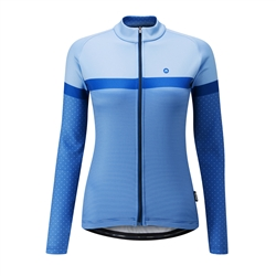 Image: CHAPEAU! MADELEINE POLKA STRIPE THERMAL LADIES JERSEY