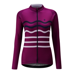 Image: CHAPEAU! MADELEINE WAVE STRIPE THERMAL LADIES JERSEY
