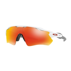 Image: OAKLEY RADAR EV PATH POLISHED WHITE - PRIZM RUBY
