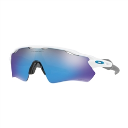 Image: OAKLEY RADAR EV PATH POLISHED WHITE - PRIZM SAPPHIRE