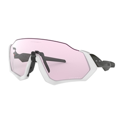 Image: OAKLEY FLIGHT JACKET CARBON - PRIZM LOW LIGHT