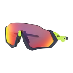 Image: OAKLEY FLIGHT JACKET MATTE NAVY - PRIZM ROAD