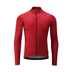 Image: CHAPEAU! TEMPO WORDMARK THERMAL MENS JERSEY DEVON RED SMALL