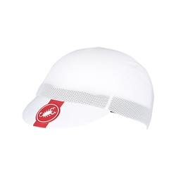 Image: CASTELLI AC CYCLING CAP WHITE ONE SIZE