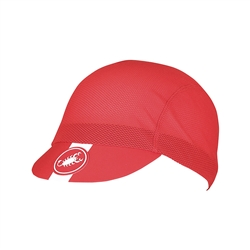 Image: CASTELLI AC CYCLING CAP RED ONE SIZE