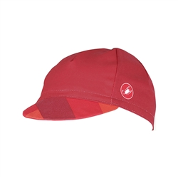 Image: CASTELLI FREE CYCLING CAP 4518025 RED ONE SIZE
