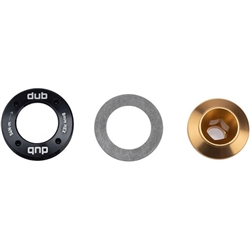Image: SRAM DUB CRANK ARM BOLT AND CAP M18 / M30 GOLD