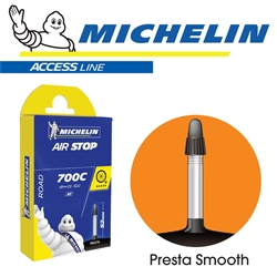 Image: MICHELIN AIRSTOP A1 700C TUBE SMOOTH VALVE