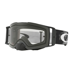 Image: OAKLEY FRONTLINE MX GOGGLE MATTE BLACK - CLEAR PLUS DARK LENS AND TEAROFFS