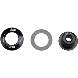 Image: SRAM DUB CRANK ARM BOLT AND CAP M18 / M30 BLACK