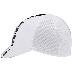 Image: CASTELLI INFERNO CYCLING CAP WHITE ONE SIZE