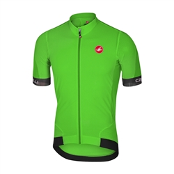 Image: CASTELLI VOLATA 2 4517018 JERSEY MENS GREEN / BLACK MEDIUM