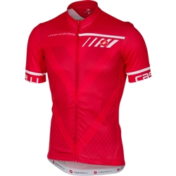 Image: CASTELLI VELOCISSIMO JERSEY MENS RED SMALL