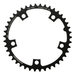 Image: STRONGLIGHT STRONGLIGHT 110MM 5 BOLT CHAINRING BLACK