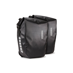 Image: THULE SHIELD PANNIERS LARGE 25L BLACK