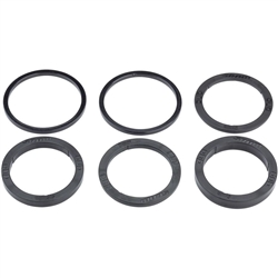 Image: SRAM DUB MTB/ROAD SPACER KIT 2-3-4-6-6.5-9MM AND 2 STANDARD BB SPACERS N