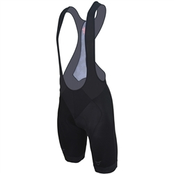 Image: CUORE SILVER BIB SHORT LADIES BLACK LARGE