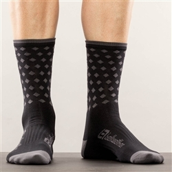 Image: BELLWETHER PINNACLE SOCK GREY S/M (39-42.5 EU)