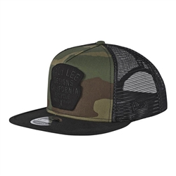 Image: TROY LEE GRANGER CAP CAMO / ARMY GREEN ONE SIZE