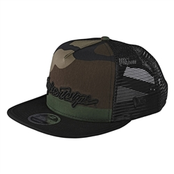 Image: TROY LEE TLD SIGNATURE CAP ARMY CAMO