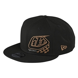 Image: TROY LEE PRECISION 2.0 CHECKERS YOUTH CAP BLACK ONE SIZE