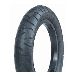 Image: CST TYRE 16 INCH SMOOTH TREAD BLACK