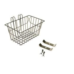 Image: GENERIC BASKET FRONT WIRE HOOK STYLE BLACK