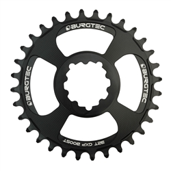Image: BURGTEC BURGTEC THICK-THIN CHAINRING SRAM 3MM BOOST OFFSET DIRECT MOUNT