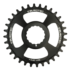 Image: BURGTEC BURGTEC THICK-THIN CHAINRING RACE FACE CINCH DIRECT MOUNT