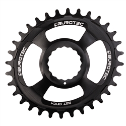 Image: BURGTEC BURGTEC THICK-THIN CHAINRING OVAL RACE FACE CINCH DIRECT MOUNT