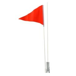 Image: BC SAFETY FLAG 60 INCH LONG