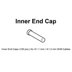 Image: SHIMANO GEAR INNER END CAPS 1.2MM (100)