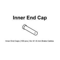 Image: SHIMANO BRAKE INNER END CAP 1.6MM (100)