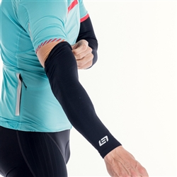 Image: BELLWETHER THERMALDRESS ARM WARMERS BLACK XLARGE