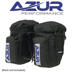 Image: AZUR COMMUTER REAR PANNIERS BLACK