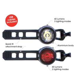 Image: AZUR CYCLOPS ALLOY USB LIGHT SET