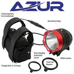 Image: AZUR VEGA 1000 LUMEN HEAD LIGHT