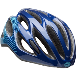 Image: BELL TEMPO JOY RIDE HELMET NAVY / BLUE ADULT LADIES