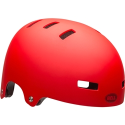 Image: BELL LOCAL HELMET MATTE RED LG 58-62