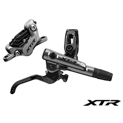 Image: SHIMANO XTR BR-M9120 TRAIL FRONT DISC BRAKE WITH TRAIL BL-M9120 RIGHT LEVER