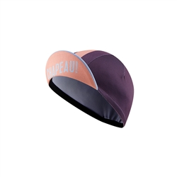Image: CHAPEAU! LIGHTWEIGHT CYCLE CAP BLOCK STRIPE LADIES