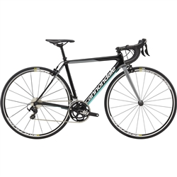 Image: CANNONDALE SUPERSIX EVO LADIES 105 2018 TURQUOISE / CASHMERE 52 CM