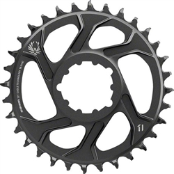Image: SRAM EAGLE X-SYNC 2 DIRECT MOUNT CHAINRING BLACK