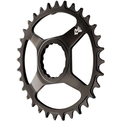 Image: RACEFACE CHAINRING CINCH STEEL DIRECT MOUNT RING BLACK