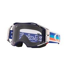 Image: OAKLEY AIRBRAKE MTB GOGGLE TLD PREMIX NAVY ORANGE - PRIZM LOW LIGHT