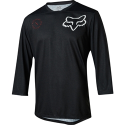 Image: FOX HEAD INDICATOR 3/4 SLEEVE ASYM JERSEY